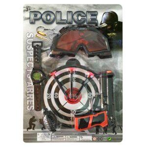 ΣΕΤ POLICE 7ΤΕΜ 36x25cm Carnavalista 232054