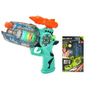 SPACE GUN ΜΠΑΤΑΡΙΑΣ 18x30x5cm ToyMarkt 88673