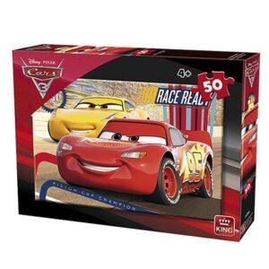 ΠΑΖΛ 50 ΤΕΜ CARS  King International 5288