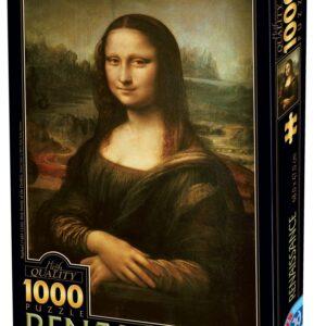 ΠΑΖΛ 1000 ΤΕΜ ΜΟΝΑ ΛΙΖΑ ΚΟΥΤΙ=28x37cm D-toys 72689DA01