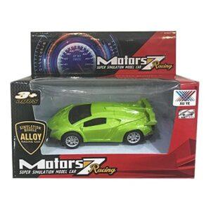 SUPER CAR PULL BACK ΜΕΤΑΛΛΙΚΟ 15x12x6cm ToyMarkt 902000