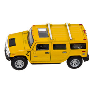 "PULL BACK 5""1:40 HUMMER H2 SUV μηκος 16cm ToyMarkt 90642"