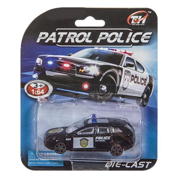 ΚΑΡΤΕΛΑ DIE CAST ΟΧΗΜΑ POLICE 11x14cm ToyMarkt 912773