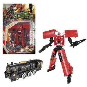 ROBOT TRAIN WARRIOR ΣΕ ΚΑΡΤΕΛΑ 22x35cm ToyMarkt 913032