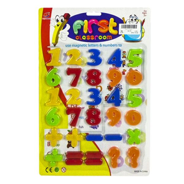 ΜΑΓΝΗΤΙΚΟΙ ΑΡΙΘΜΟΙ 26x38cm ToyMarkt 911011
