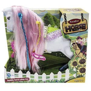 ΑΛΟΓΑΚΙ PARADISE HORSE 27x25cm ToyMarkt 922019