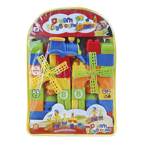 ΤΟΥΒΛΑΚΙΑ ΣΕΤ 58 ΤΕΜ 24x33x8cm ToyMarkt 95405